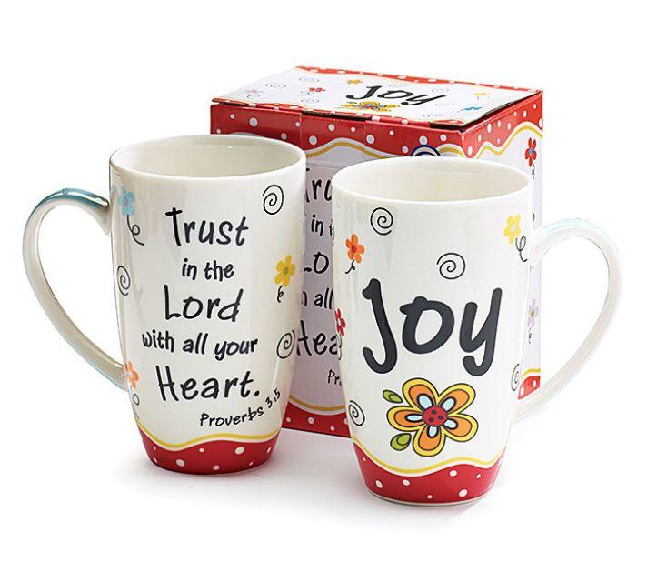 MUG - Joy Message Coffee Mug