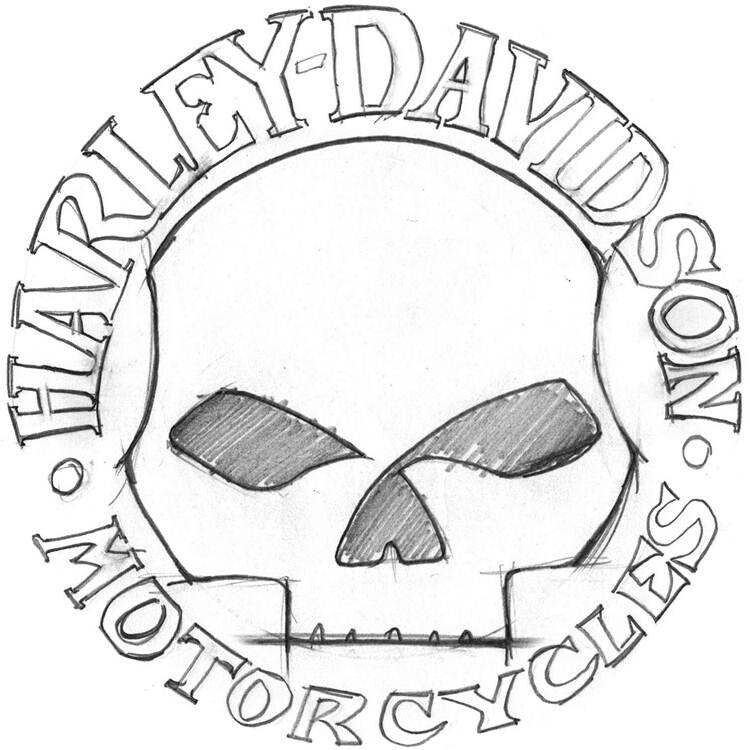 Willie G Skull Skull Harley Davidson Skull Cake