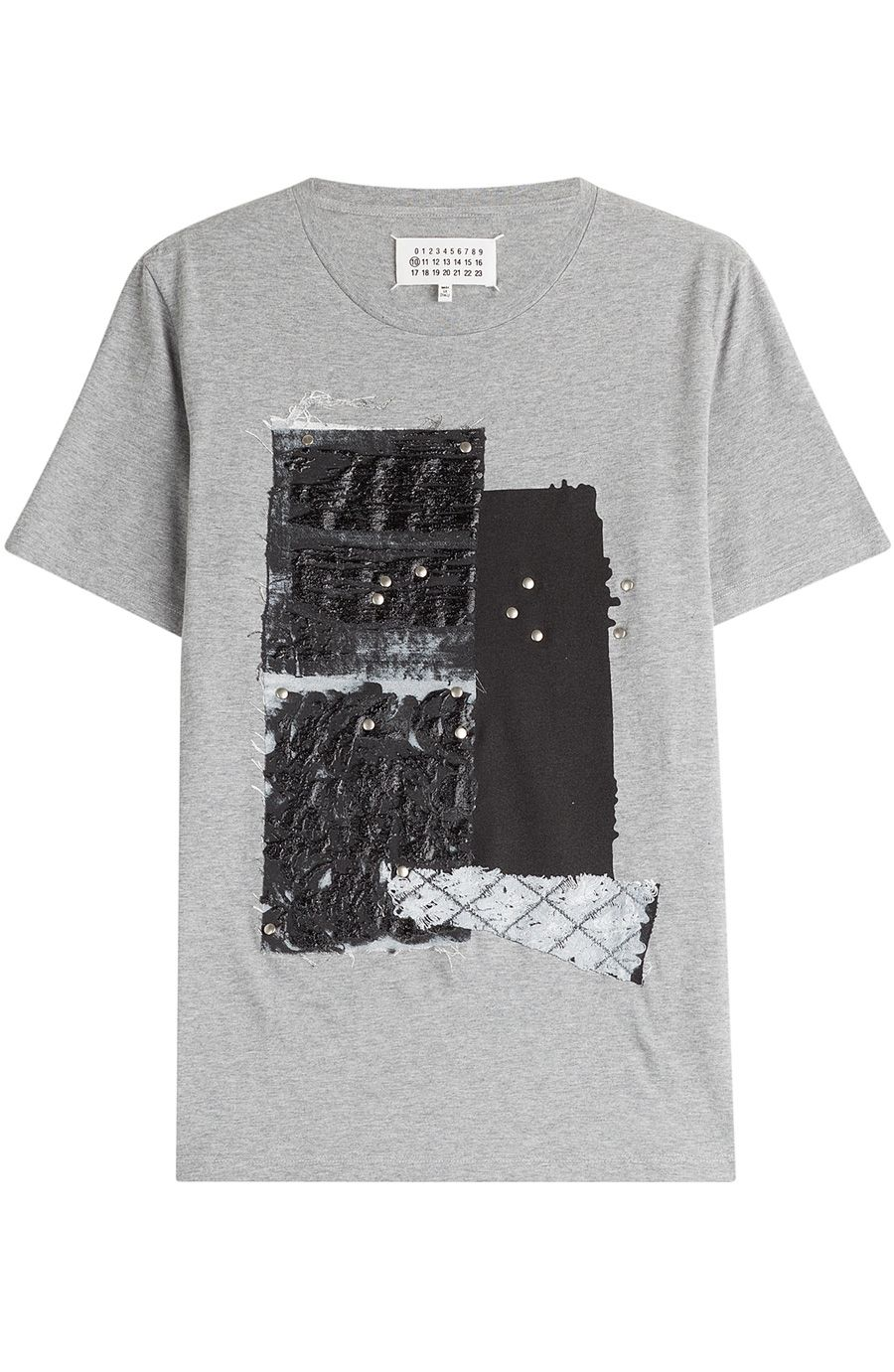 Maison Margiela Printed Cotton T Shirt Maisonmargiela Cloth T