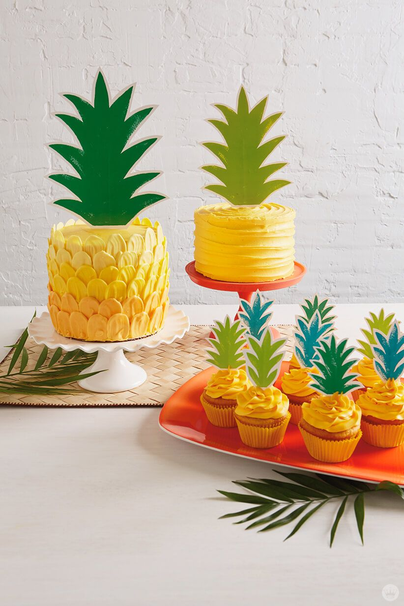 With Summer Here Its The Perfect Time To Make A Deliciously Beautiful Pineapple Cake For