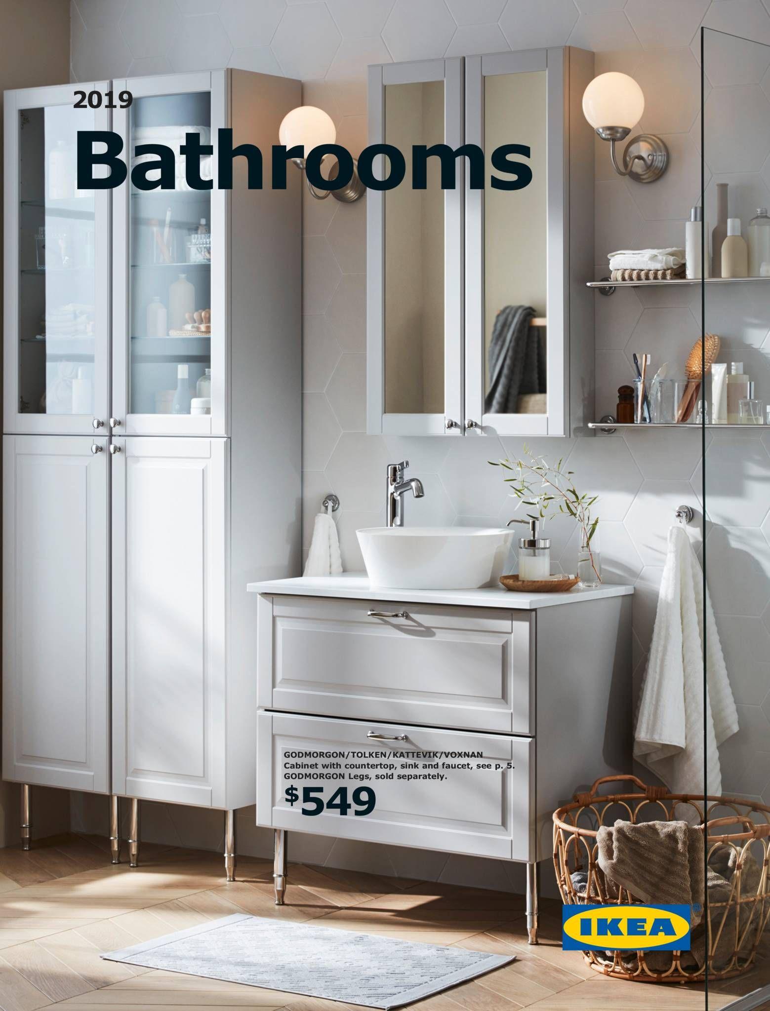 BATHROOM 4 - IKEA Bathroom Brochure 4  Fitted bathroom