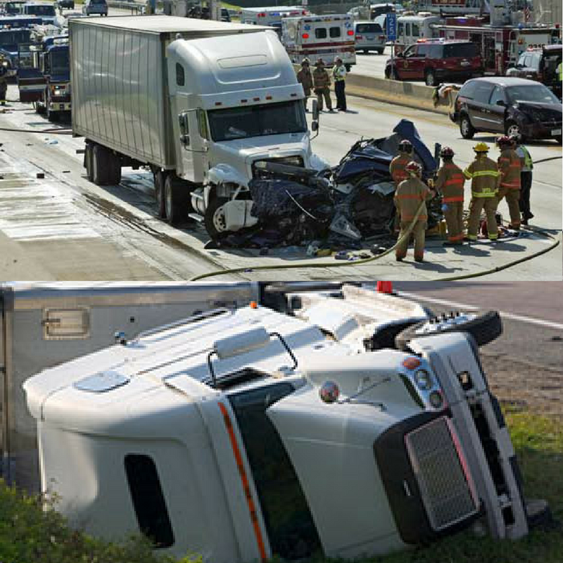 Image result for free pictures commercial truck accident