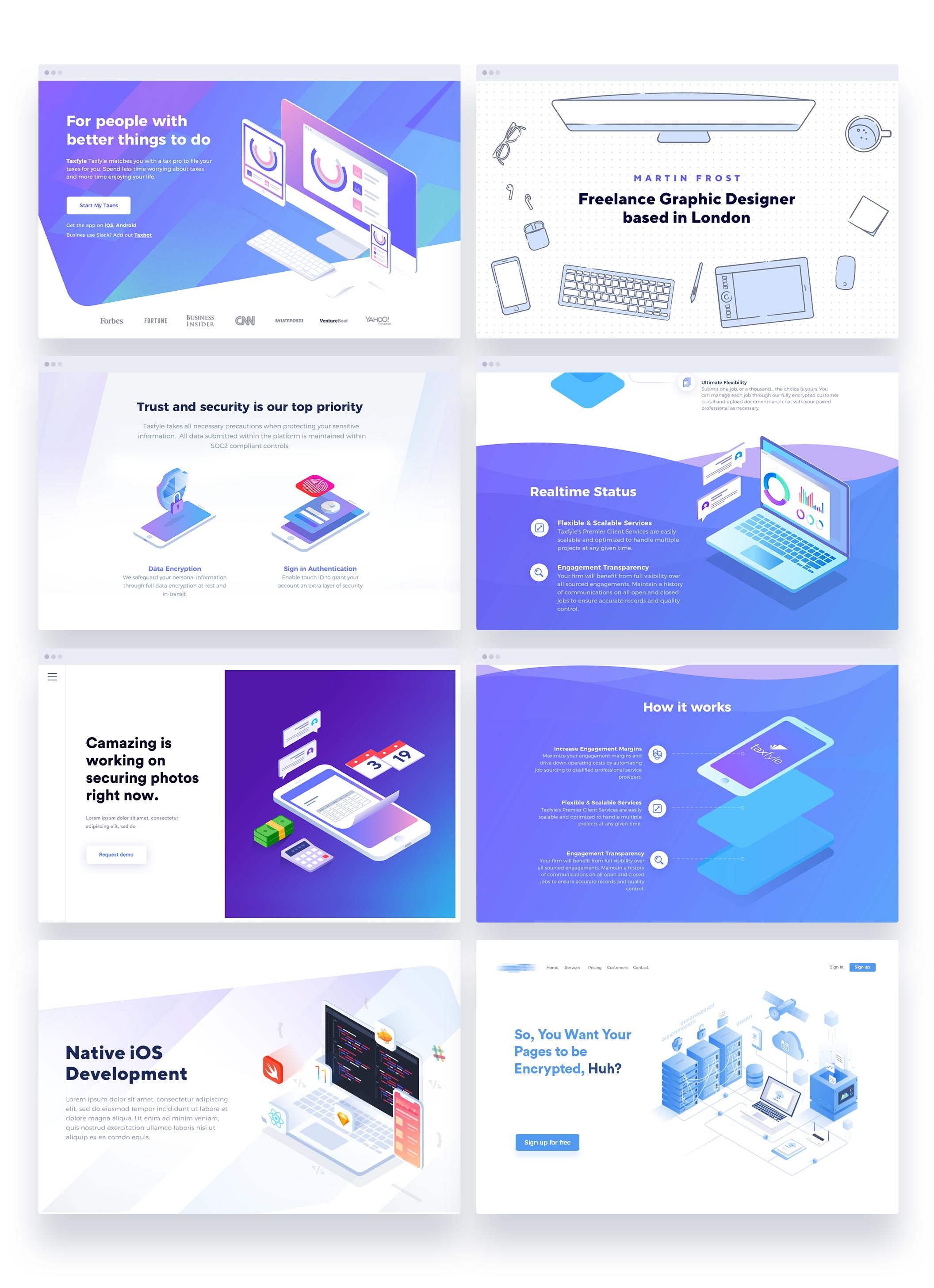 Use Cases Web Design Web Design User Interface Creative Web Design