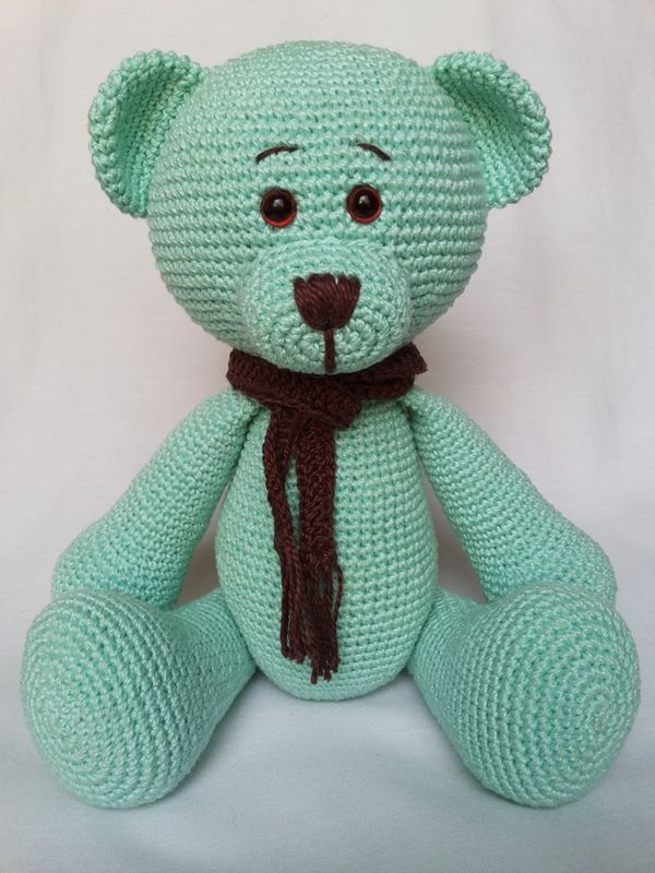 Urso aviador | Ursinho aviador, Urso de crochê, Receitas amigurumi | 800x600
