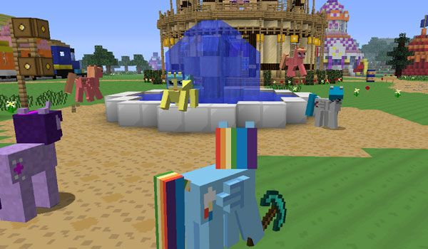 Mine Little Pony Mod para Minecraft 1 3 2 | Minecraft | My