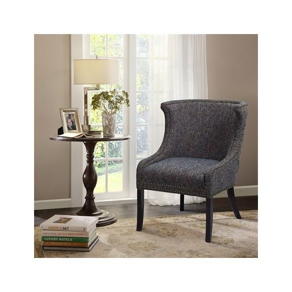 Madison Park Demi Accent Chair (845 SAR) ❤ Liked On Polyvore Featuring Home,