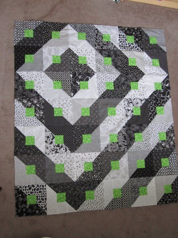 True Blue Canadian Quilt Another Slant On Hst And Instructions On