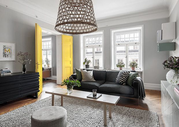 Best 8 Rooms That Prove Scandi Style Can Be Colorful Rugs In 640 x 480