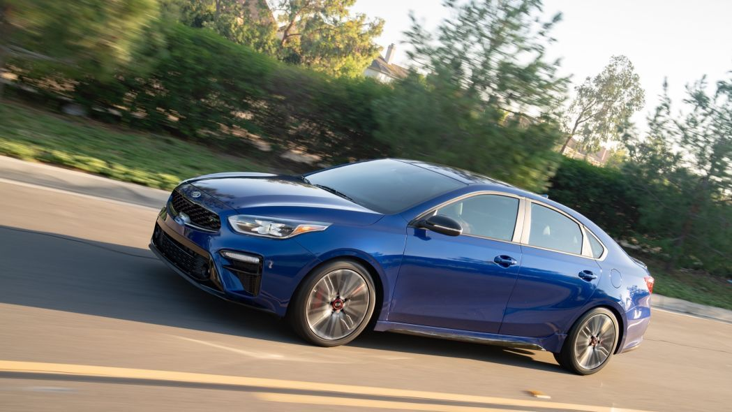 Kia Forte GT shown at SEMA with turbo engine and manual