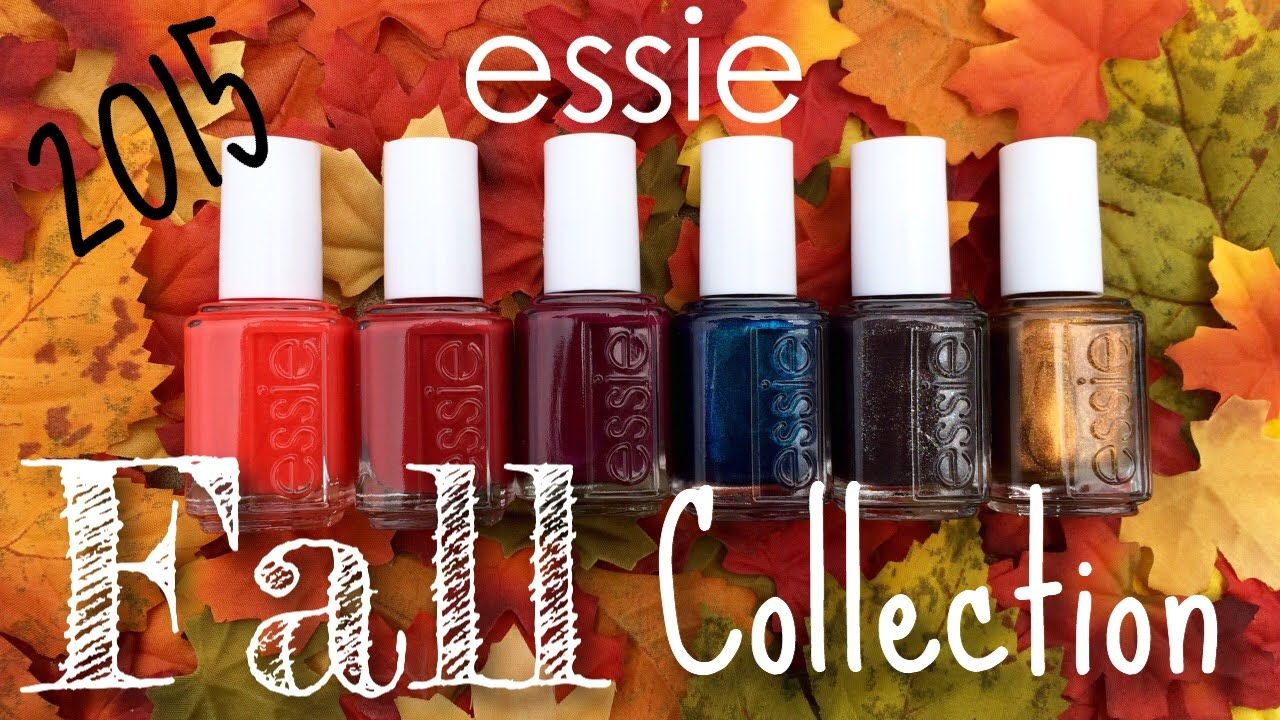 essie Leggy Legend Fall 2015 Collection | Nail Polish Pursuit | You ...