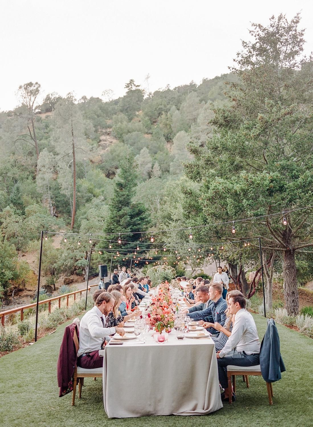 An Intimate Wedding in Napa Painted in Every Shade of Wine