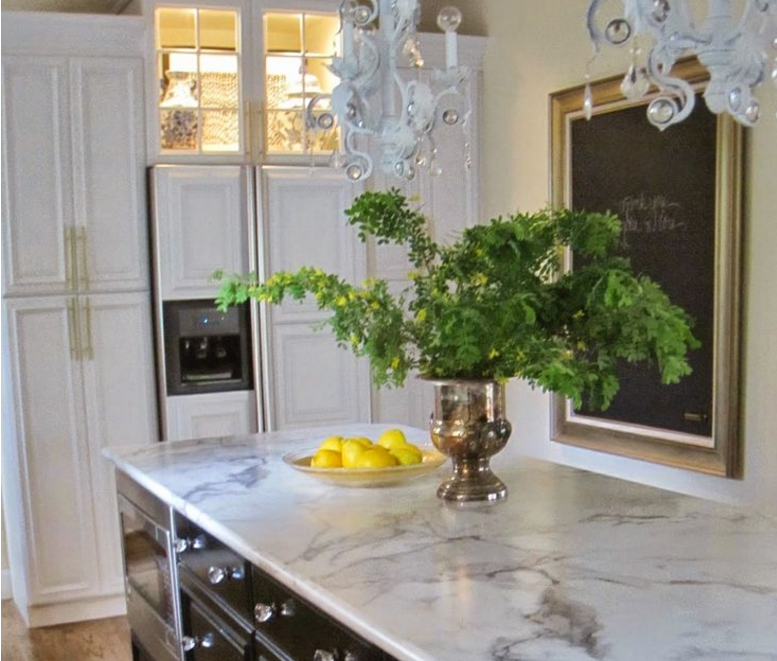 25 Marbled Countertops To Ignite Your Kitchen Revamp
