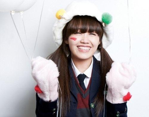9 K Pop Idols With The Cutest Eye Smiles Reply 1997 Eunji Apink Answer Me 1997