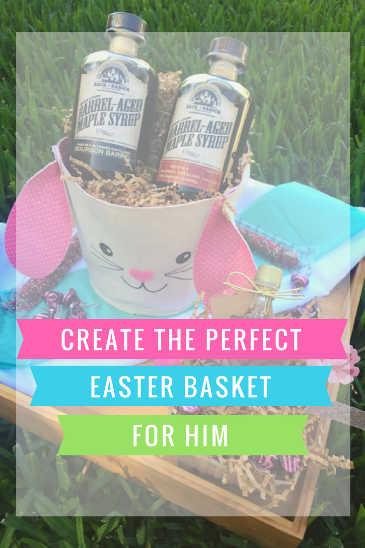 Create the perfect easter basket for him easter easterbasket create the perfect easter basket for him easter easterbasket bunny gift negle Images