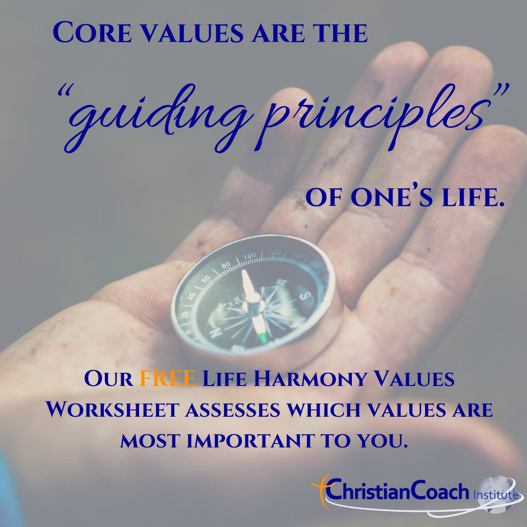 Core Values Worksheet