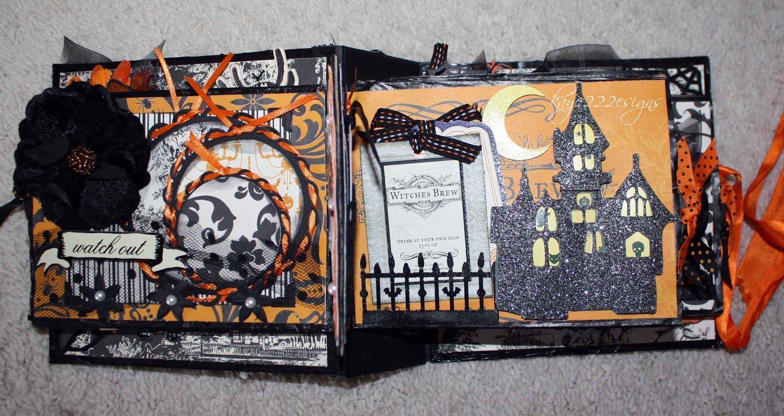 halloween mini albums | vintage halloween mini album *first you tube