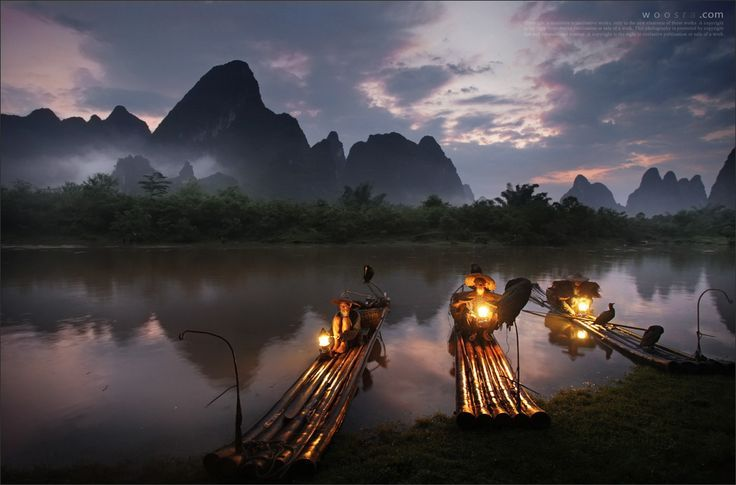 The wizard in Guilin, China by Woosra Kim