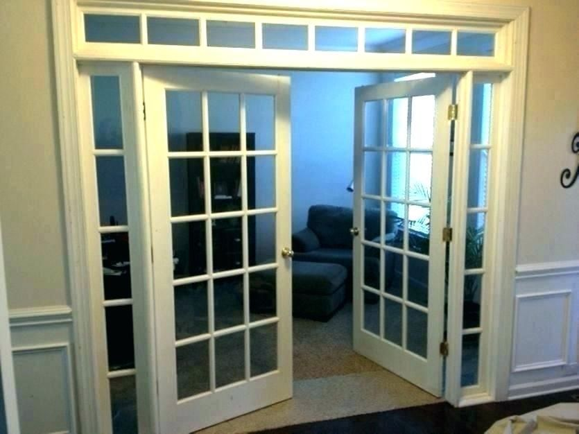 French Doors With Side Panels Interior Sidelights Photo 4 Transom Home Depot Dou Depot In 2020 French Doors Interior French Doors French Doors With Sidelights