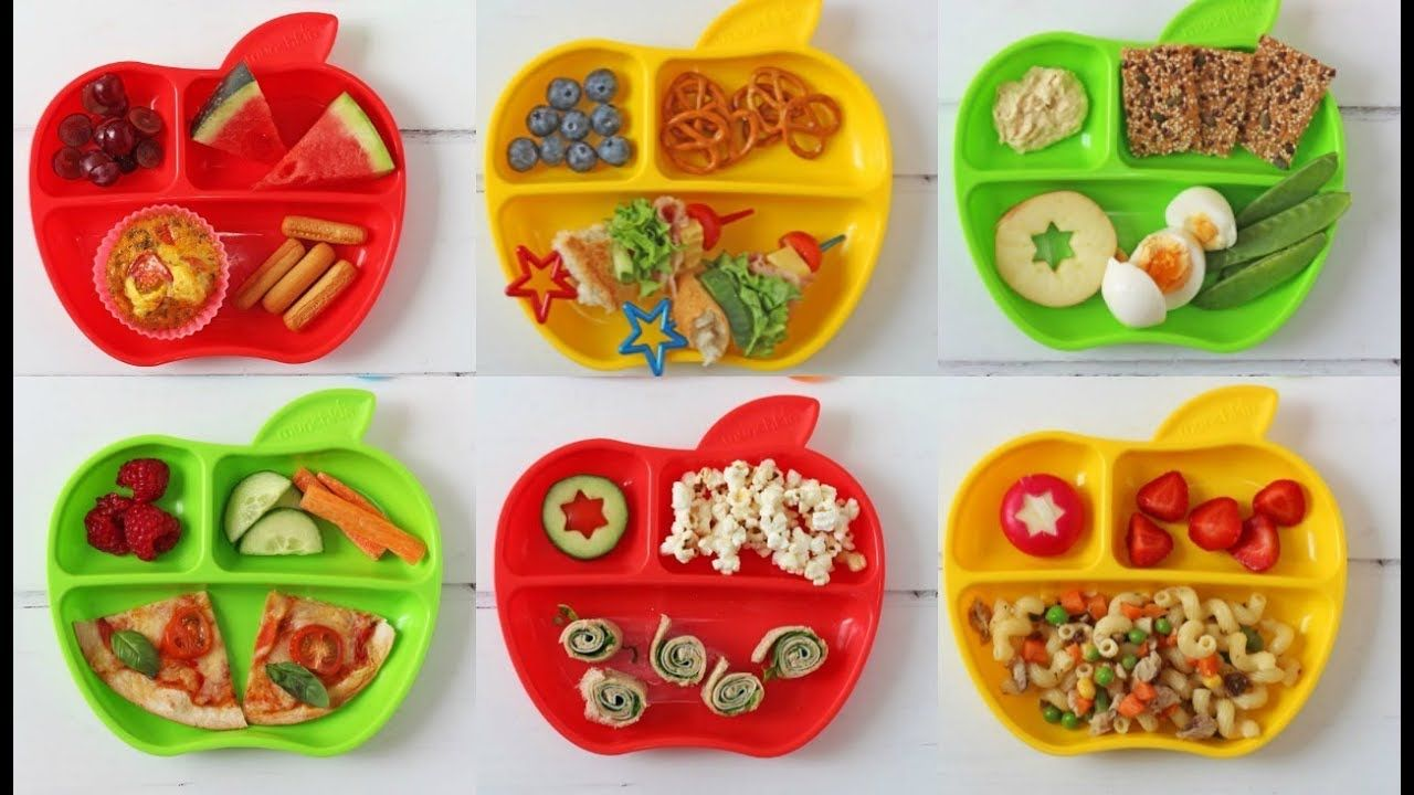 A week of lunch ideas for toddlers with munchkin ad
