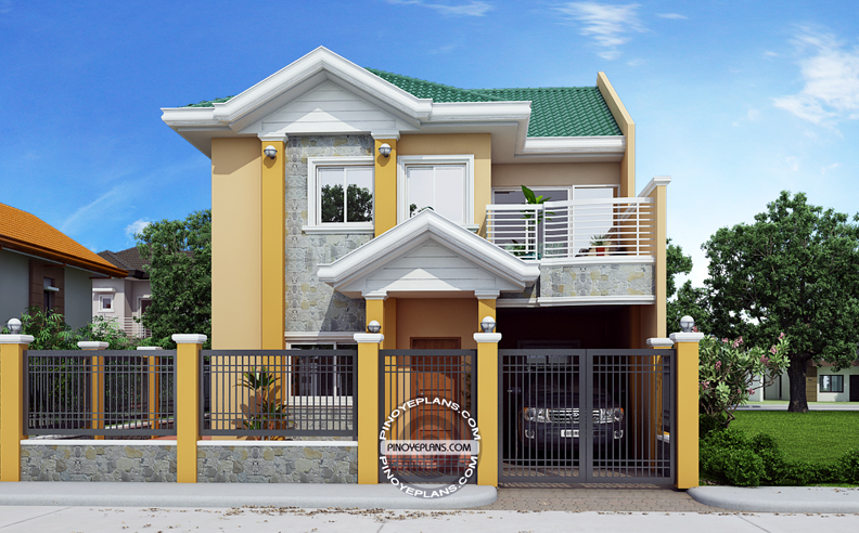 4 Bedroom House Plans Open Floor With Pool