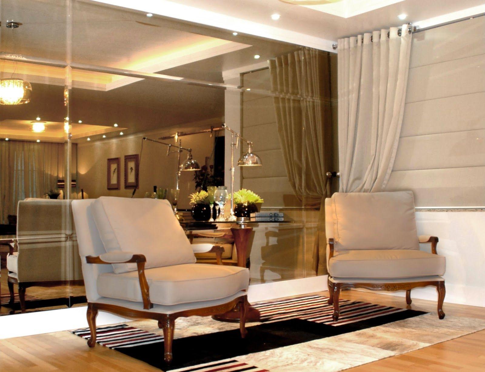 Decor Salteado Blog De Decora O E Arquitetura Espelho Bronze  ~ Espelho Bronze Em Quarto De Casal