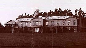 Spala in Poland where the Czar had estates. They didn't go there after 1912 because Alexandra was afraid for Alexei who had had an accident there. Also, little Princess Elisabeth of Hesse ( Alix's niece) stayed with them, caught Typhoid and died there. They looked on it as a cursed palace.