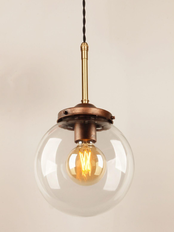 Retro Ceiling Pendant Light With A Bronze Spray Gallery Brass