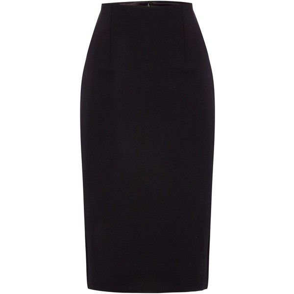 Ellen Tracy High waist pencil skirt and other apparel, accessories and trends. Browse and shop related looks.