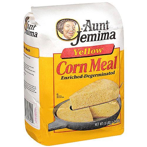 Aunt Jemima Yellow Corn Meal, 80 oz Bag - Walmart.com | Yellow corn, Aunt jemima, Cornmeal mix ...