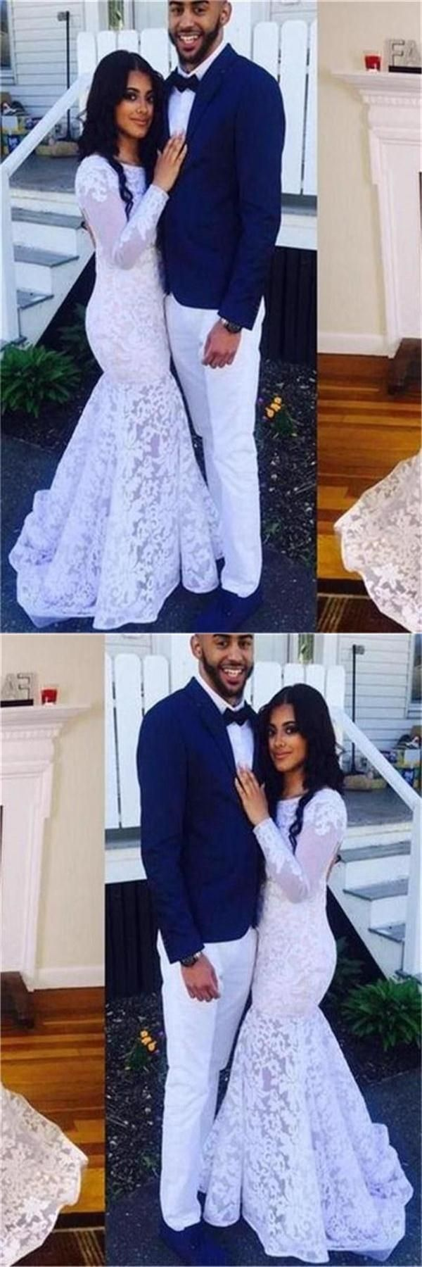 Lace white prom dresses prom dresses lace prom dresses backless