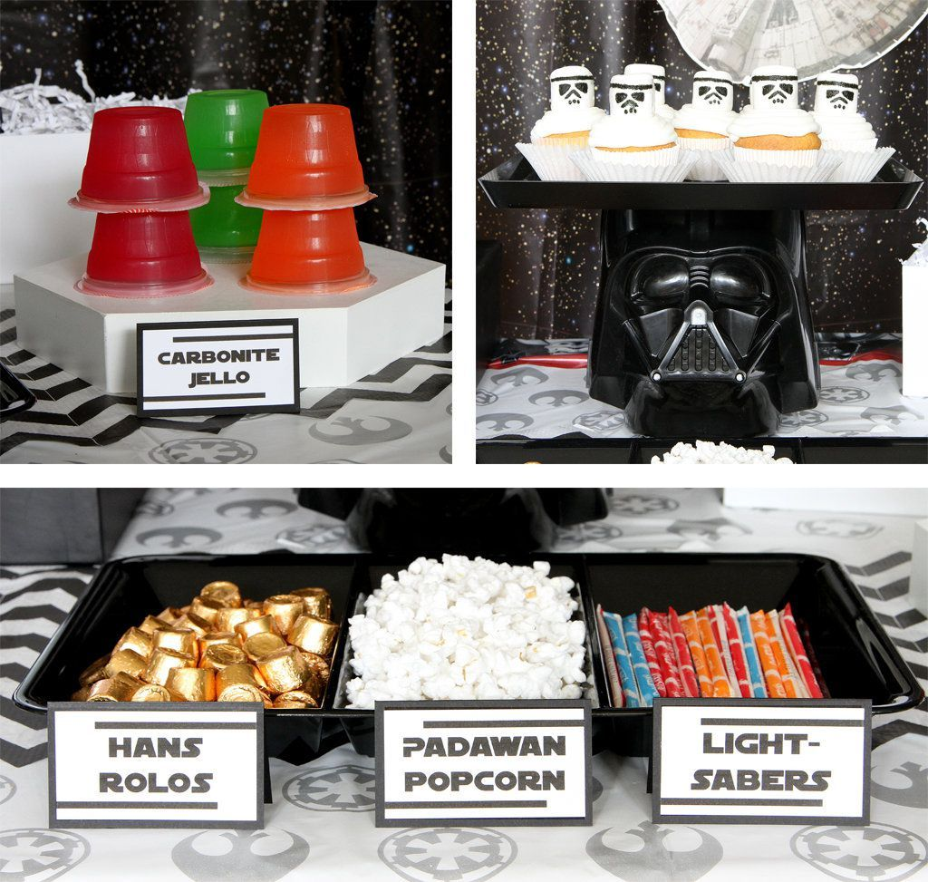 Star Wars Party Ideas Kids Party Ideas at Birthday in a