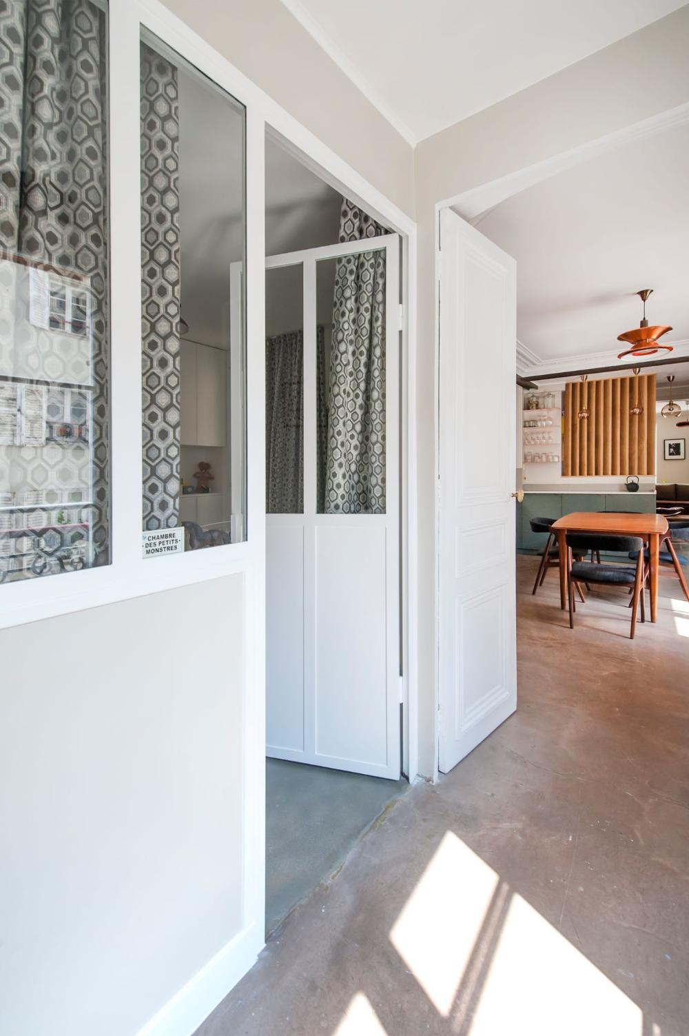 Appartement Paris 10 Creer Une Cuisine Familiale Et Une Chambre De Bebe Appartement Paris Appartement Loft Appartement