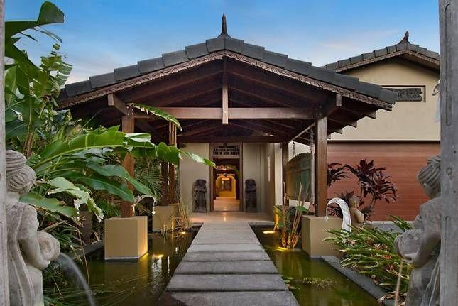 Wave Break Byron Bay Nsw Accommodation House Design Photos Bali House House Exterior
