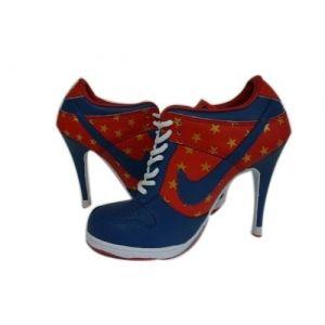 big sale 2b98d 5b07d Deutschland Nike Dunk SB Low Heels Rot Blau Weiß für Damen Günstige Nike