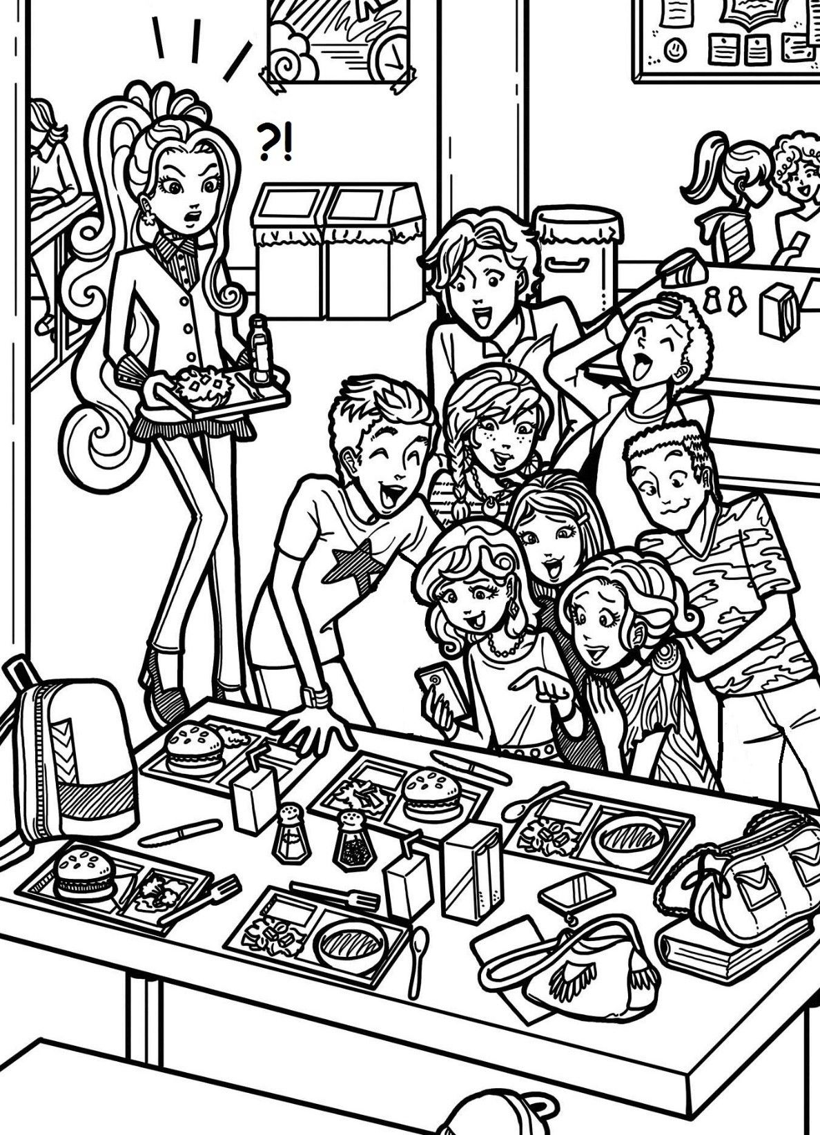 Coloring pages for dork diaries - Image Result For Mackenzie Hollister Dork Diarieshollistercartoons