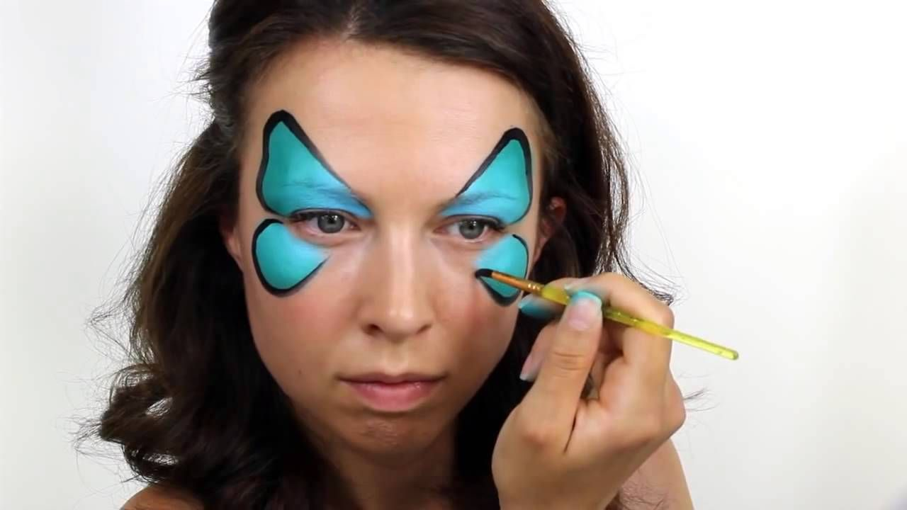 youtube face painting tutorial