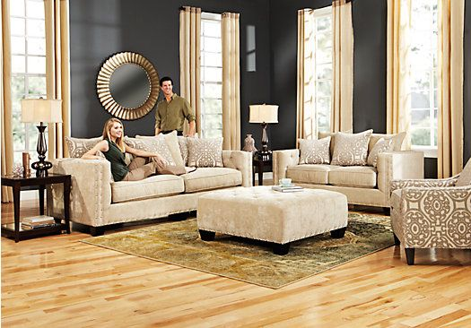 Shop for a Cindy Crawford Home Sidney Road 7 Pc Living Room at ...