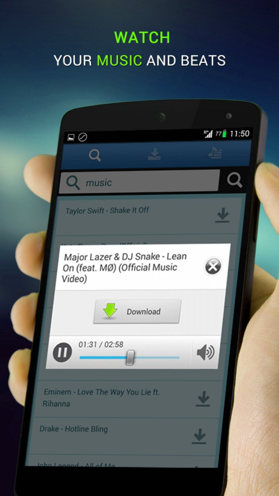 music paradise pro android download