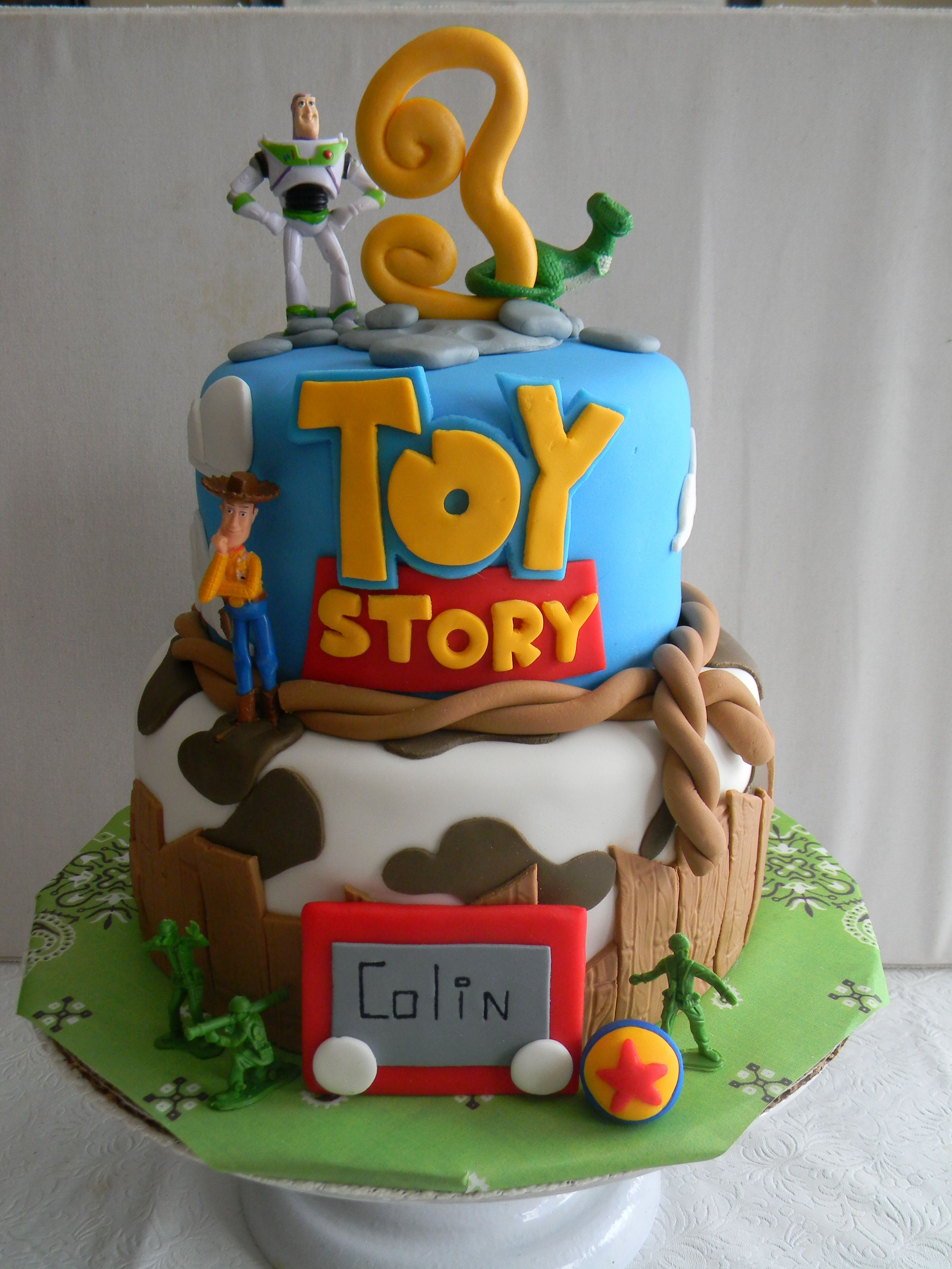 Toy Story Cakes For Boys : Toy story themed birthday cake becca lulu cakes