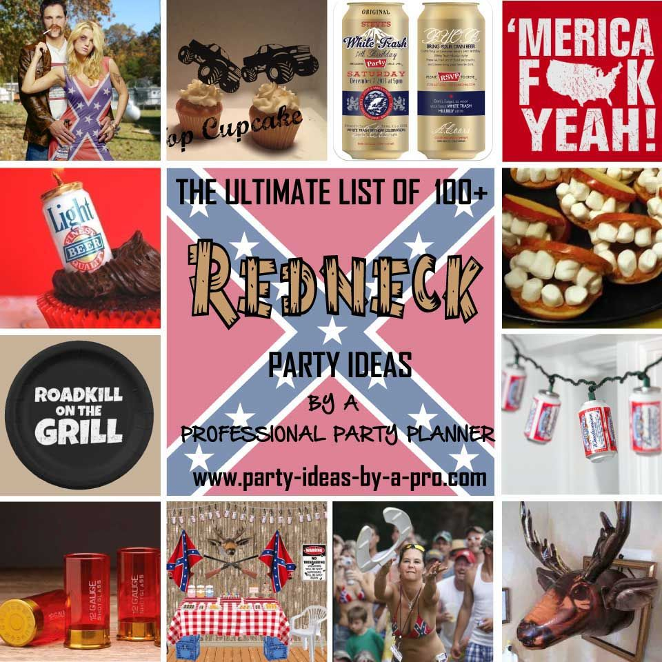redneck party ideas Redneck Bunko Pinterest – Trailer Trash Party Invitations