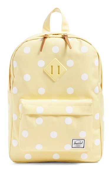 be6a8120fd9 How cute is this kids Herschel Supply Co. 'Heritage' backpack?! Super  stylish pick for back-to-school shopping. Library books, jacket, school  supplies—they ...