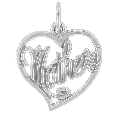 Mother Charm $25 http://www.charmnjewelry.com/category/sterling_silver/Mothers_Day_Charms.htm #MothersDayCharm