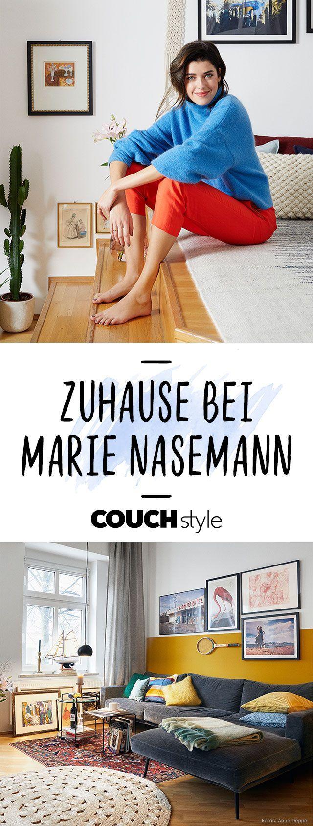 Homestory: Zuhause bei Marie Nasemann! Wir haben das Model exklusiv ...