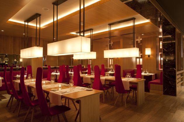 lighting in restaurants. Interior Modern Lighting Restaurant Of The Fitzwilliam Hotel - In Restaurants H