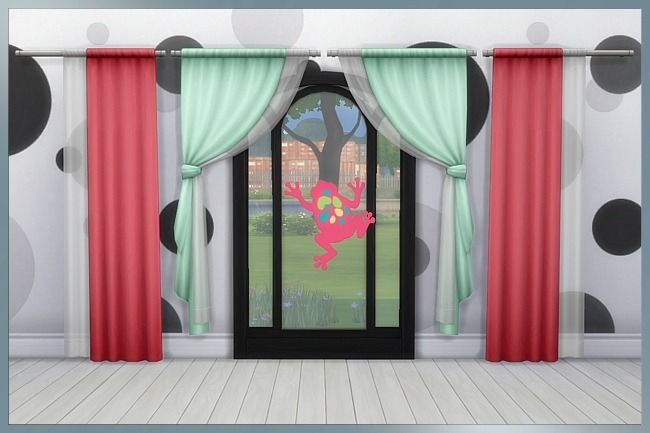 Colourful curtains by Cappu. Details and download at the Simszoo (free registration required) Find this and a lot more at the Simszoo! Need help with registration? Have a look here! If you play Sims 3...