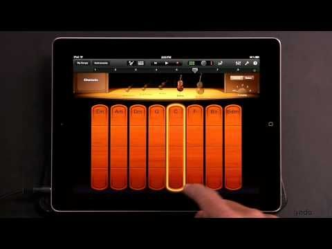 iPad tutorial How to Play the Smart Strings in Garageband