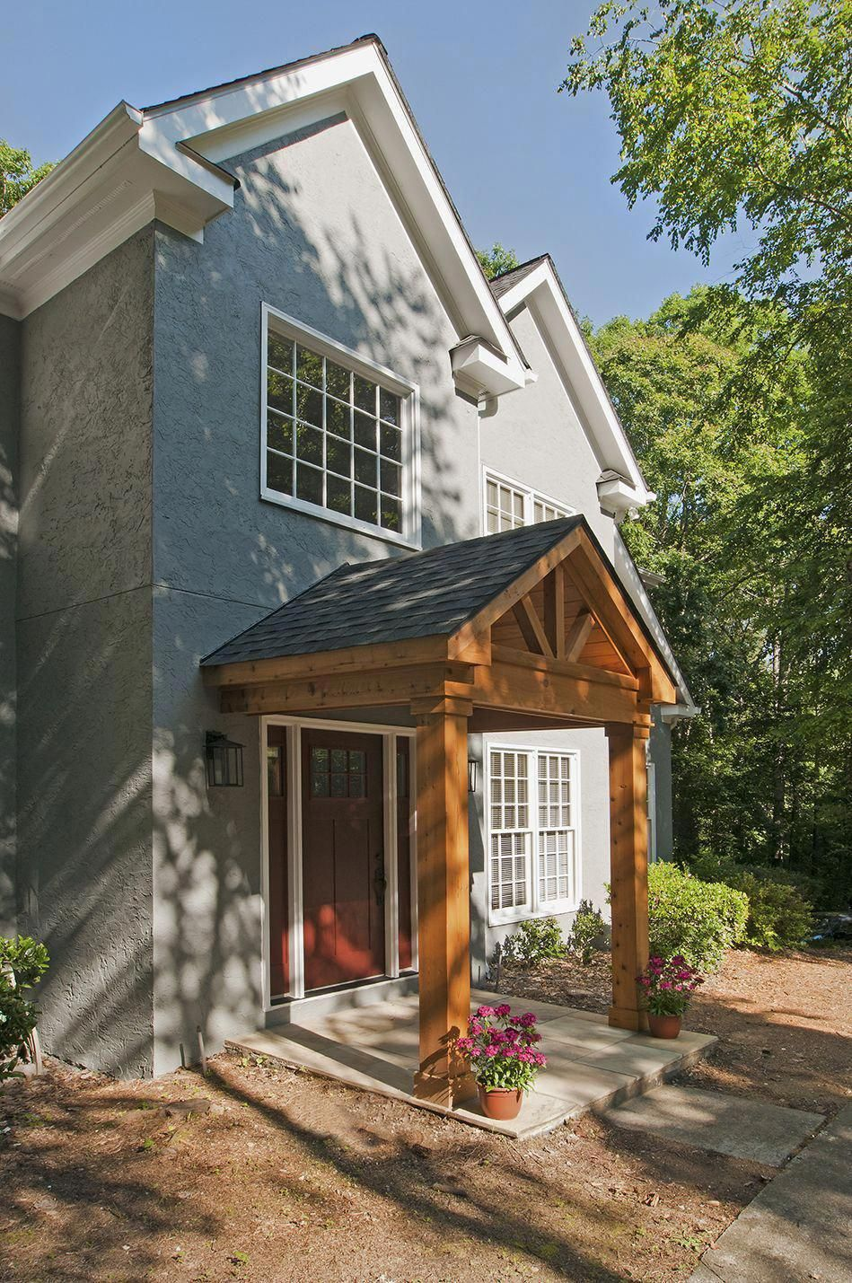 Pin By Jessica Bandy On House In 2020 House With Porch Gable