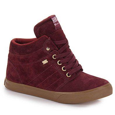 8d753f8f3 Tênis Skate Feminino Mary Jane Street - Vinho | Outfits/Clothes ...