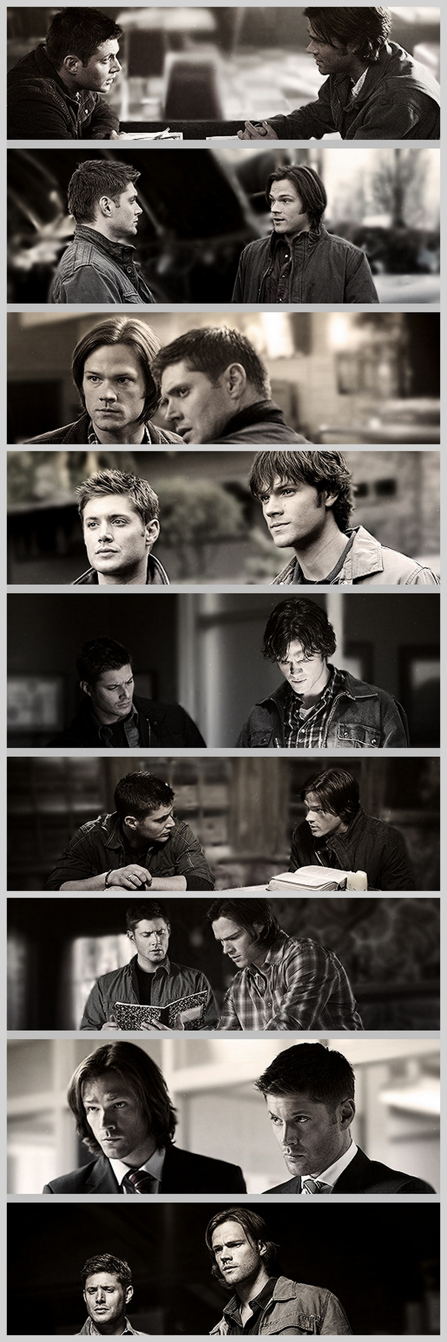 Evolution of Sam and Dean