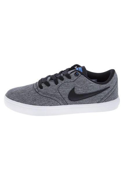 Skate Gris Nike Sb Check Solar Cnvs Zapatillas Deportivas Hombre Zapatillas Hombre Zapatos